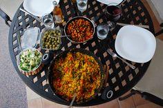 Vegan/vegetarian, gluten-free Spanish food. YUM!