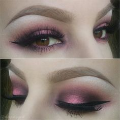 from darkest to lightest (all mac): sketch, cranberry and sushi flower. then i used a liiiittle bit of makeup forever's star powder in #940 ...