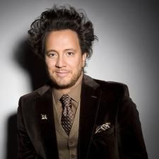 You know you watch too much history channel when you recognize this guy.. Giorgio A. Tsoukalos