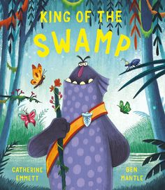 King Of The Swamp by Catherine Emmett & Ben Mantle Tim Burton Corpse Bride, Illustrator, Album Jeunesse, Curious Creatures, Book Week, Skate Park, Little People, New Pictures, Mantle