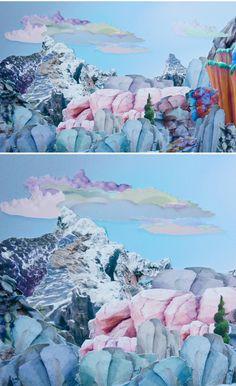 mary ann kluth, collage
