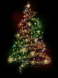 Red Christmas Tree Animation animated christmas tree with lights and stars in red Christmas Tree Glitter, Merry Christmas Gif, Christmas Scenes, Christmas Love, Christmas Pictures, Xmas Tree, Beautiful Christmas, Winter Christmas, Christmas Lights