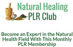 This PLR membership provides your list with fresh content every month. It is delivered within the first week of the month, and provides 70 pieces of content for them to use. I personally not only love health and wellness, but natural and holistic health in particular. I also noticed that it is super HOT right now, so you really can't go wrong! Every month, the Natural Healing PLR Club will have a new theme that relates to that month or the curren