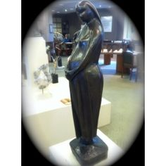 Alfred Tibor Sculpture Great Expectation Bronze. Available at Argo & Lehne Jewelers.
