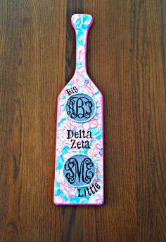 Lilly Pulitzer Paddle - monogrammed