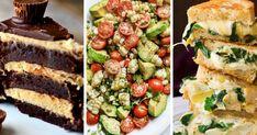 Christmas Brunch Recipes You Can Make Ahead Of Time Vegetarian Sandwich Recipes, Avocado Recipes, Vegan Recipes, Cooking Recipes, Yummy Recipes, Vegan Food, Cooking Tips, Cake Recipes, Bourguignon Recipe