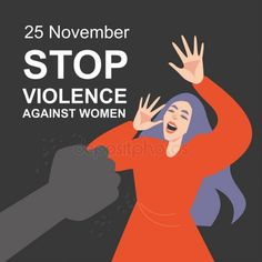 Stop violence against women symbolic illustration - Stock Vector , Gender Equality Poster, Protest Art, Fruit In Season, Domestic Violence, Beautiful Creatures, Bullying, 25 November, Symbols, How To Plan