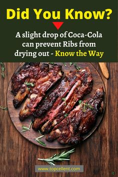 If you have leftover ribs, do not waste them. Know how to reheat ribs and keep them moist and enjoy your barbeque without wasting any more. Easy Bbq Recipes, Pot Roast Recipes, Rib Recipes, Steak Recipes, Copycat Recipes, Low Carb Recipes, Crockpot Recipes, Bbq Ribs, Pork Ribs