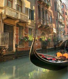 Venice, Italy. Ride on a Gondola anyone?