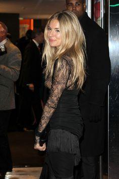 Sienna Miller - hair