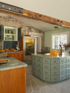 Nice wooded custom cabinets done by LaFata located in Michigan ...