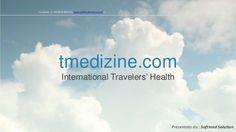#tmedizine..... tutto quello che c'è da sapere sul #viaggio #travel #turismo #sanità