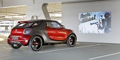 A Smart with a beamer #concept
