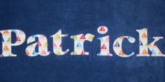 Come Sail Away Personalized Applique Towel *Great for Beach, Pool or Bath* Custom Boy Sailboat Name Towel