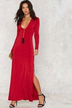Nasty Gal Sunrise Poison Maxi Dress - Sale: 60% Off and Up | Dresses