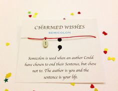 Hey, I found this really awesome Etsy listing at https://www.etsy.com/listing/240366402/semicolon-project-mind-semi-colon