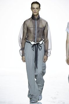A look from the Duckie Brown Spring 2016 Menswear collection.