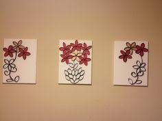 Exceptional Toilet Paper Roll Wall Art With Inside Petals Painted