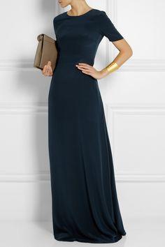 Saloni Donna silk crepe de chine maxi dress NET-A-PORTER.COM