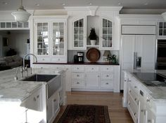 Harvard, MA custom build (frame to finish!) - traditional - kitchen cabinets - boston - Sprague Woodworking