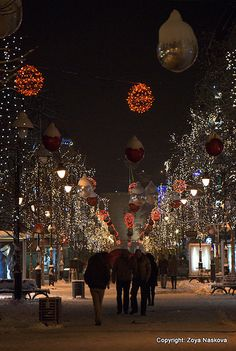 Christmas in Skopje, Macedonia