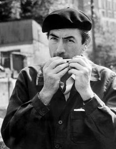 The Beret Project: Gregory Peck (2)
