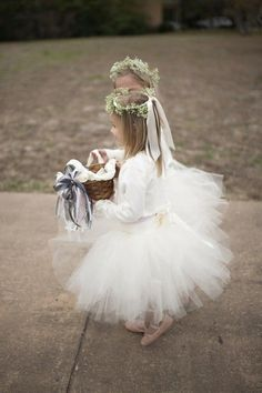 Grey Wedding & #flowergirl wedding ideas... #Budget #Wedding #ideas for brides, grooms, parents & planners ... https://itunes.apple.com/us/app/the-gold-wedding-planner/id498112599?ls=1=8 … plus how to organise an entire wedding, without overspending ♥ The Gold Wedding Planner iPhone App ♥ http://pinterest.com/groomsandbrides/boards/