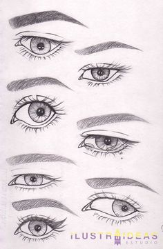 Do you want to learn to draw eyes? We teach you to draw eyes of anim . ¿Quieres aprender a dibujar ojos? Te enseñamos a dibujar ojos de personas anim… Do you want to learn to draw eyes? We teach you to draw eyes of lively people step by step. Drawing Techniques, Drawing Tips, Drawing Sketches, Drawing Drawing, Drawing Ideas, Sketching, Pencil Art Drawings, Cartoon Drawings, Eye Drawings