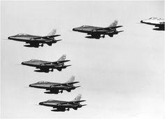 North American F-100D and F-100F Super Sabres - Flyvevåbnet (Royal Dutch Air Force), Denmark