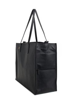 The Work Tote in Black | Beis Travel – Béis Travel
