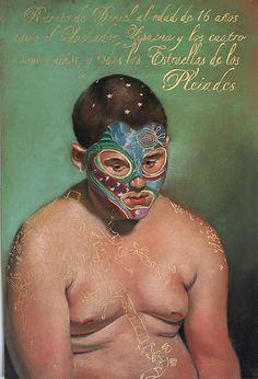 Retrato de Daniel Como el Luchador Zipacna, via Flickr.