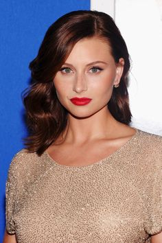 """Aly Michalka at the premiere of 'Grown Ups 2.' #Makeup artist Hung Vanngo used CK One Color in """"Little Liar."""""""