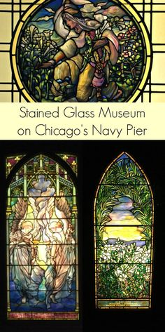 Stained Glass Museum - A hidden treasure on Chicago's Navy Pier (oh... and it's FREE!)