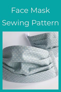 Anyone else collecting sewing patterns for face masks? Time to break out the old sewing machine! Free Face Mask Sewing Pattern & Tutorial, Free Sewing Pattern, Medical Face Mask Mask with filter — Little Stitch Studio Small Sewing Projects, Sewing Projects For Beginners, Sewing Hacks, Sewing Tutorials, Sewing Tips, Sewing Patterns Free, Free Sewing, Free Pattern, Pattern Sewing