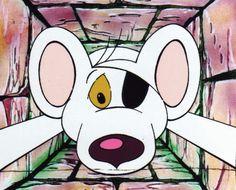 Brian Cosgrove - 'Danger Mouse falling'