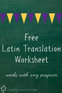 This practice page will help you tutor your Latin students with more confidence. Learn Latin, practice Latin, use Latin - the more you review, the better you'll know it.