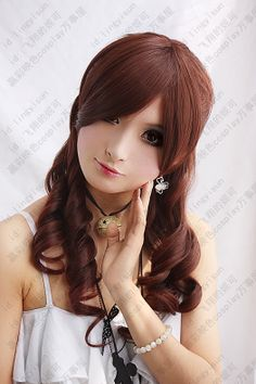 High temperature silk flowers Story ★ ★ names and positions cosplay wig cos wig knot -- $20