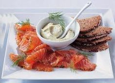 Gravlax or gravad lax is a Nordic dish consisting of raw salmon, cured in salt, sugar, and dill