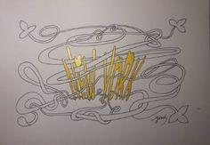 "Saatchi Art Artist Yehouda Morin - YOUD; Drawing, ""BLANODO New York"" #art"