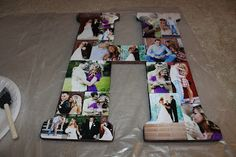 It Is What You Make It: DIY   Picture Filled Initial