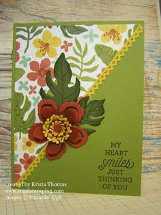 Botanical Blooms, Stampin' Up! Occasions 2016 Catalog  by Krista Thomas www.regalstamping.com