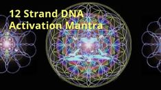 12 Strand DNA Activation Mantra - Produce Nitric Oxide, Eliminate junk from DNA Deep Sleep Music, Om Mani Padme Hum, Spiritual Guidance, Sound Waves, Reflexology, Archetypes, Beautiful Words, Mantra, Dna