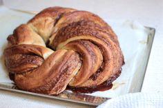 Cinnamon Sugar Challah #TwelveLoaves: Vintage Kitchen Notes