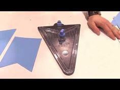 ▶ We R Memory Keepers - Banner Punch Board - CHA 2015 - YouTube