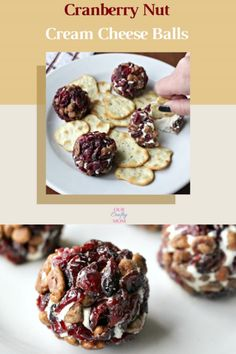 Easy Holiday Recipes, Fun Easy Recipes, Easy Snacks, Snack Recipes, Amazing Recipes, Cooking Cranberries, Orange Sweet Rolls, Cream Cheese Ball, Delicious Desserts