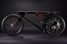 Элегантный минимализм мотоцикла от Чикары Нагаты (Chicara Nagata)