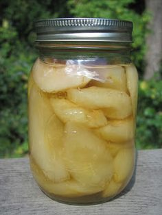Creating Nirvana: Canning Brandied Pears