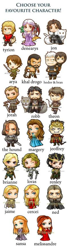 Game of Thrones Magnet set by dreamchaserart on Etsy
