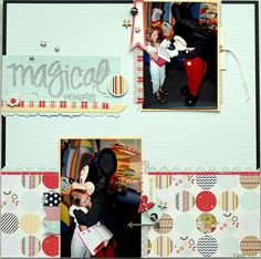 Magical Memories | Scraptastic Club by DT @Michelle Unruh