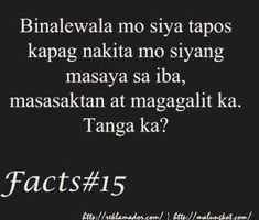 Patama Quotes at Tanga Love Quotes Tagalog | Mr. Reklamador Patama Quotes, Tagalog Love Quotes, Emo, Tumblr, Facebook, Emo Style, Tumbler